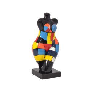 statue-femme-peint-main-artisanale-couleurs-emotion-miss-crazy-drimmer-boisetdeco-cambresis-nord
