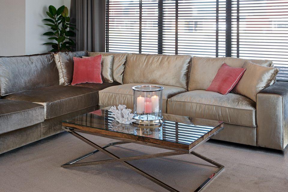 table basse plateau bois massif pied metal kensington. Black Bedroom Furniture Sets. Home Design Ideas