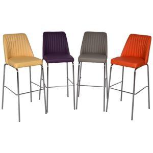 tabouret-bar-colore-couleurs-orange-gris-jaune-violet-design-boisetdeco-cambresis-nord