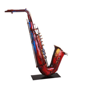 Saxophone- multicolore-metal-PIGMENT-magasin-decoration-boisetdeco-cambresis-nord