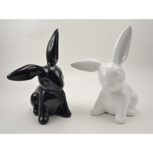 decoration-lapin-noir-blanc-playful-drimmer-boisetdeco-decoration-nord