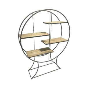 etagere-metal-bois-4-planches-design-boisetdeco