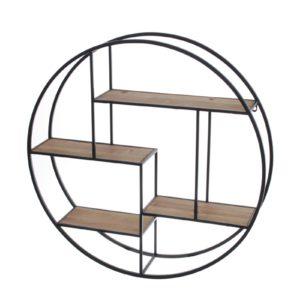 etagere-murale-ronde-metal-bois-art-de-fer-collection-socadis-decoration-originale-magasin-boisetdeco