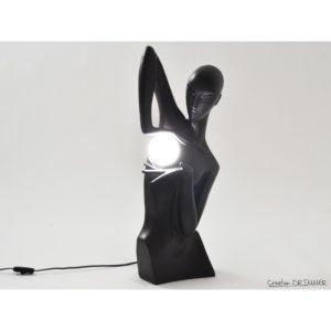 lampe-originale-lady-femme-noir-creation-drimmer-c2451