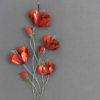sculpture-murale-fleurs-coquelicots-rouges-decoration-interieur-boisetdeco