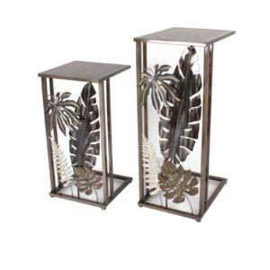 sellettes-petit-meuble-fer-metal-feuilles-tropcicales-socadis-decoration
