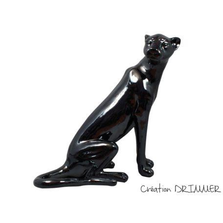statue-panthere-assise-noire-design-drimmer-boisetdeco-c2014