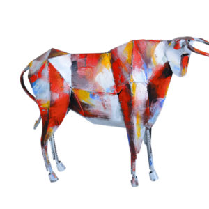 statue-vache-metal-pigment-couleurs-design-boisetdeco-nord