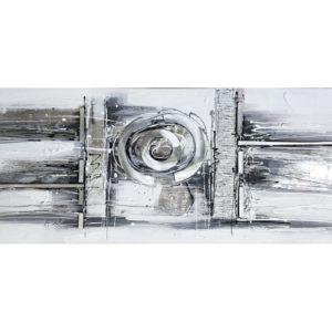 tableau-abstrait-noir-et-blanc-metal-tendance-deco