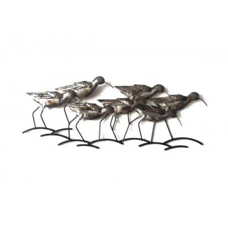 oiseaux gris deco