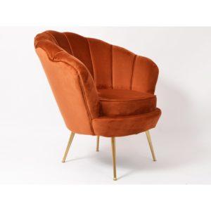 fauteuil-tissu-velours-orange-rouille-holden-drimmer