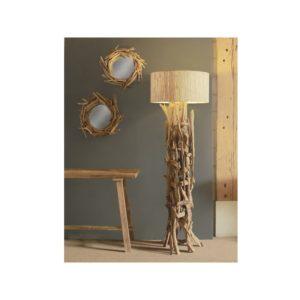 Lampadaire bois flotté naturel 180cm design Drimmer – REGATA