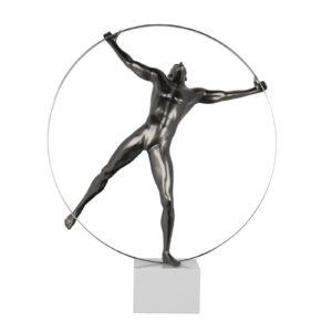 statue-homme-deco-sur-socle-umanesimo-initial-boisetdeco