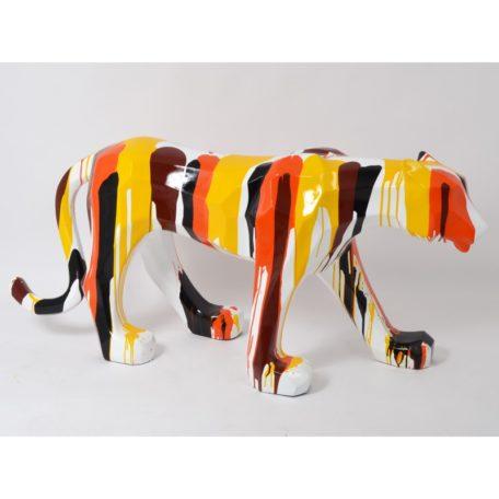 statue-panthere-trash-orange-emotion-drimmer-design-magasin-decoration