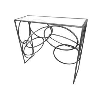 console-metal-cerceaux-plateau-en-verre-art-de-fer-magasin-meubles