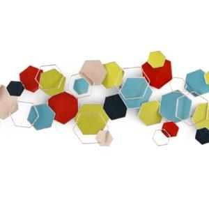 deco-murale-abstraite-formes-hexagones-multicolors-design-magasin-decoration-boisetdeco-cambresis