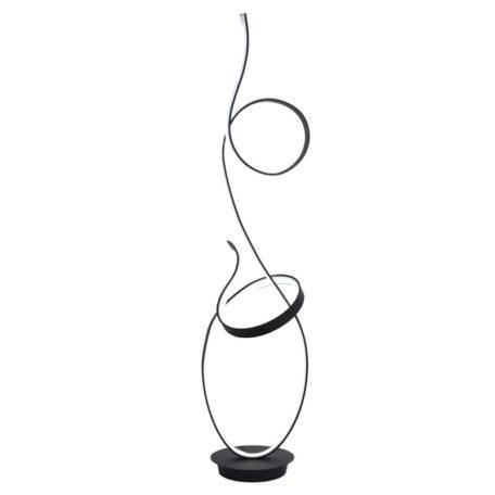 lampadaire-design-led-double-boucle-noir
