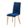 chaise pied rectangulaire bois chene