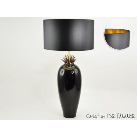 lampe-luminaire-original-noir-or