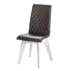 chaise tissu matelasse