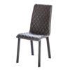 chaise pieds metal noir