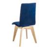 chaise rotative chene