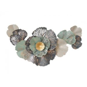 fleurs feuilles deco murale