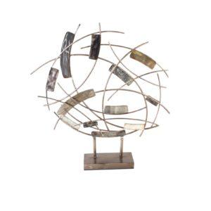 sculpture design abstrait