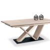 table-design-chene-clair-pied-central