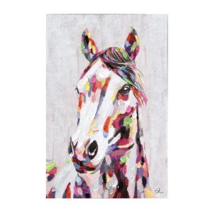 tableau-cheval-de-face-multicolore-gallery