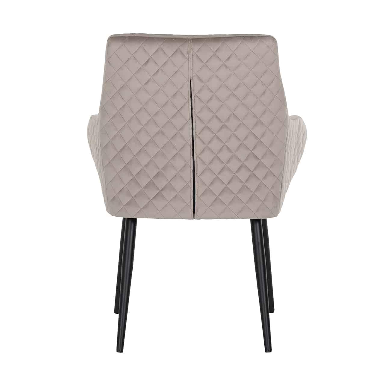 Quel Tissu Pour Chaise chaise chrissy tissu velours cuirs marron vintage richmond