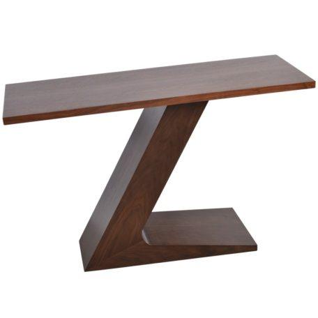 console pied original meuble contemporain en bois