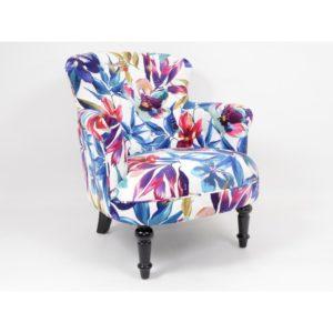 fauteuil fleurs