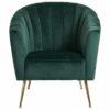 fauteuil design confort vert