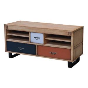 meuble-tv-original-de-qualite-meubles-batel-chene-naturel-facade-bleu-couleurs-magasin-meubles-boisetdeco