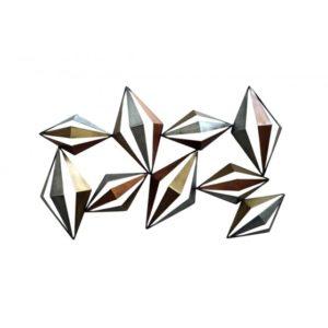 deco murale metal abstrait
