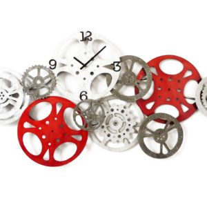horloge engrenages rouages metal