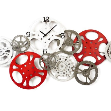horloge engrenages rouages metal