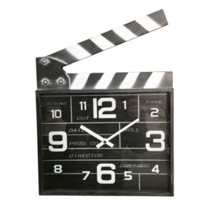 horloge original clap de cinema