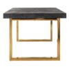 table design pieds or