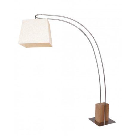 Grand lampadaire contemporain en arc modele KENT.