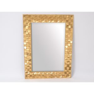 grand miroir rectangulaire or design