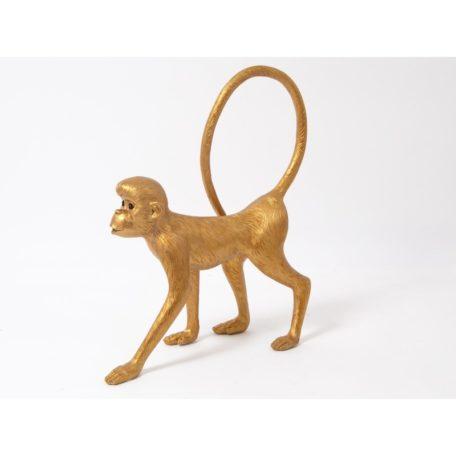 statue deco singe or