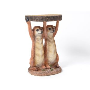 table appoint animaux suricates