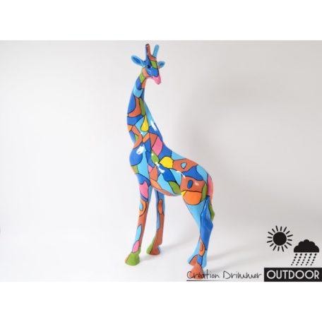 deco girafe exterieur outdoor