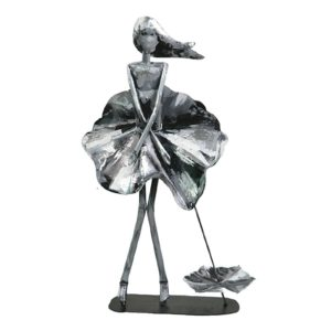 sculpture deco femme gris marylin idee cadeau originale