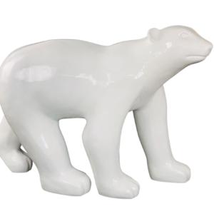 Statue d'extérieur XXL ours blanc outdoor L.126cm – OURS POLAIRE