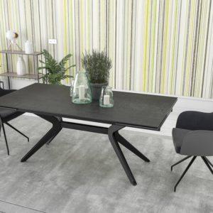 table ceramique noire