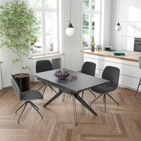 table design gris noir