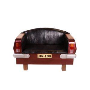 fauteuil 2 places vintage indus loft